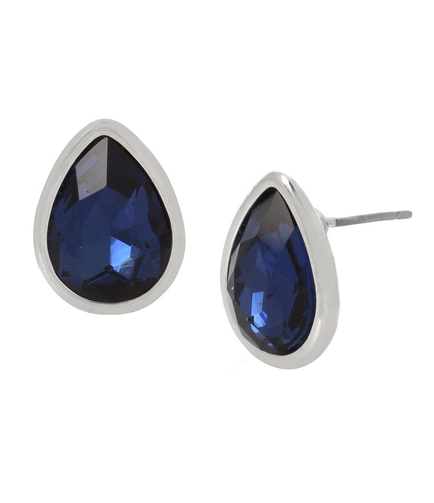 Kenneth Cole New York Teardrop Stud Statement Earrings