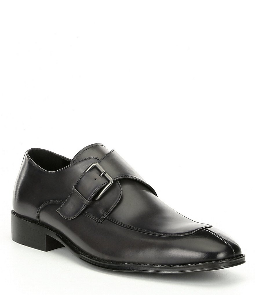 Kenneth Cole Reaction Reggie Monk Leather Slip On
