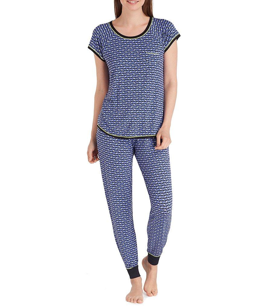 kensie elephant print jersey pajamas dillards