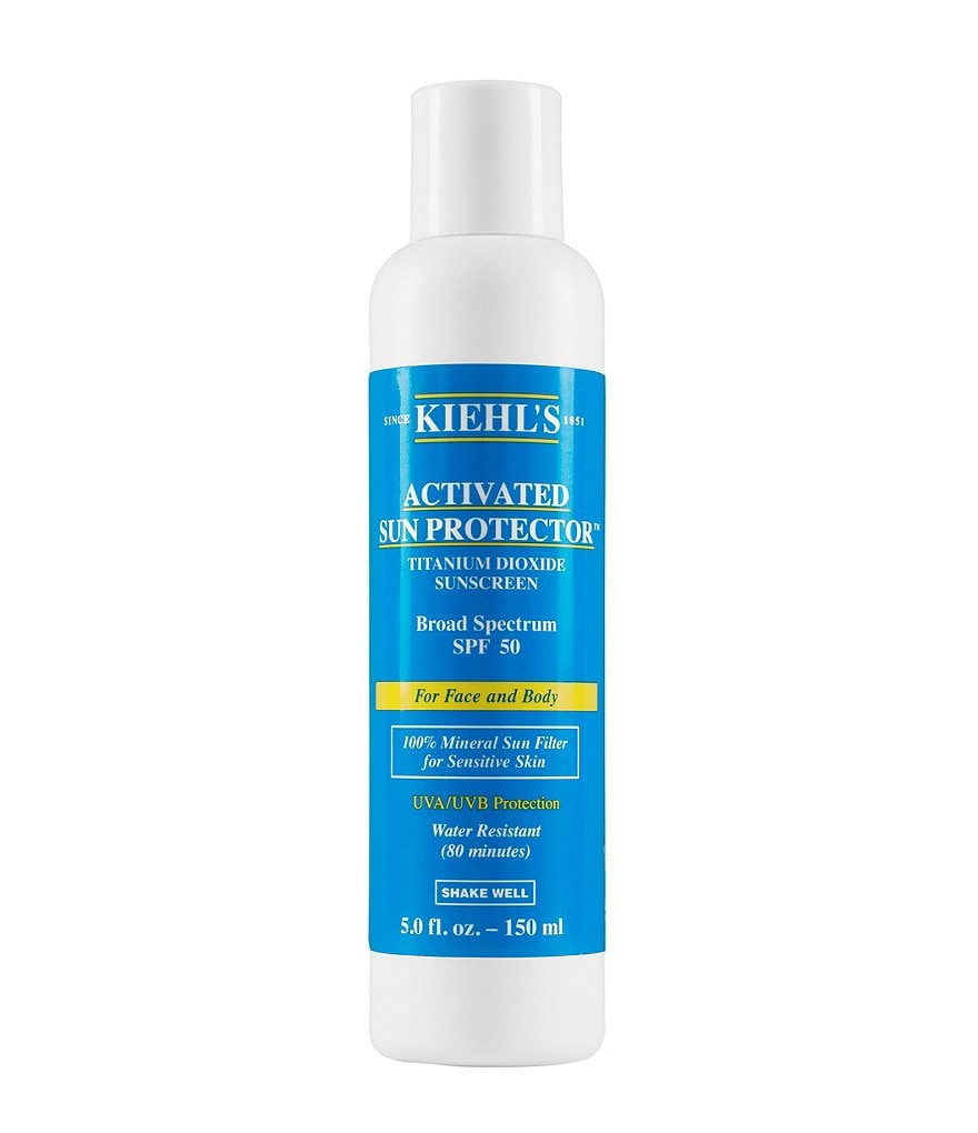 Kiehl´s Since 1851 Activated Sun Protector 100-Percent Mineral Sunscreen Lotion for Face & Body SPF 50