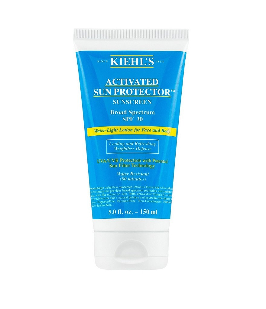Kiehl's Since 1851 Activated Sun Protector Water-Light Lotion For Face & Body SPF 30
