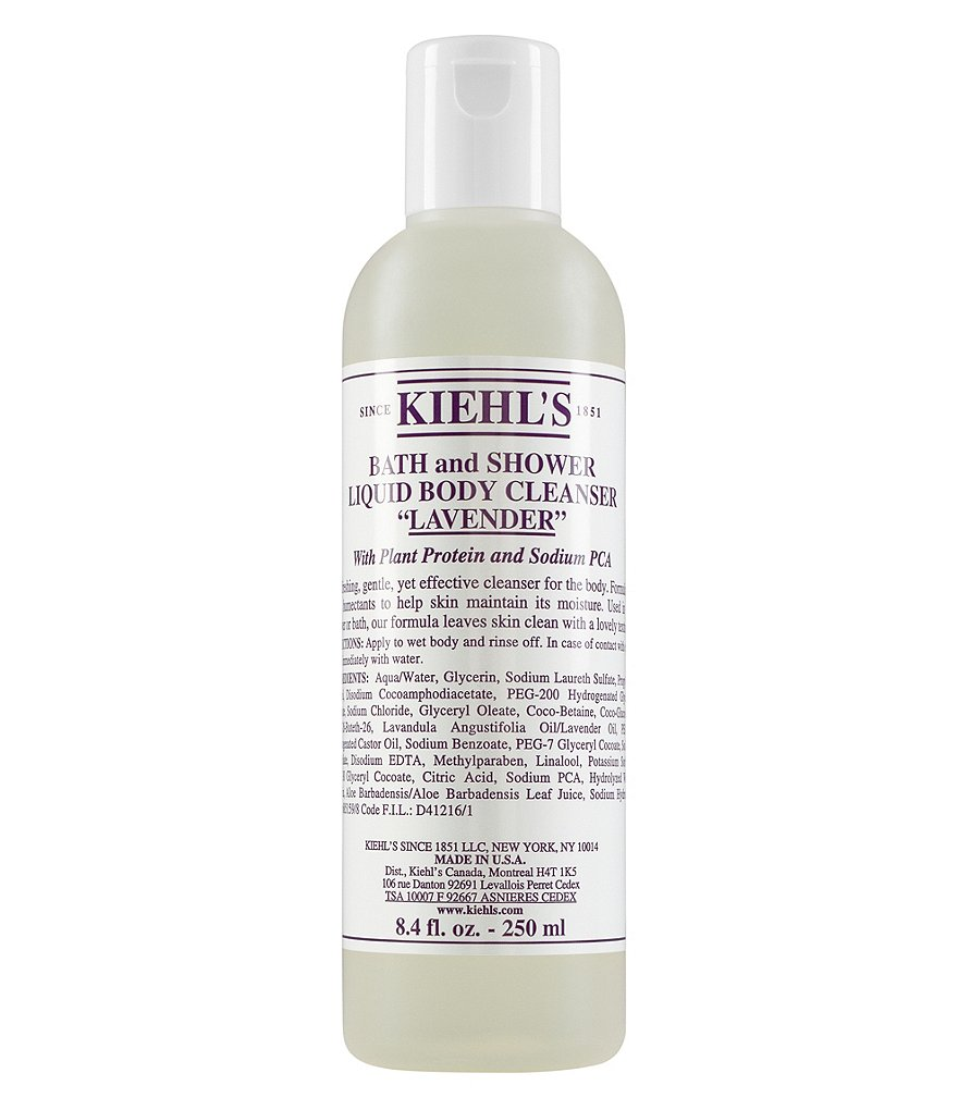 Kiehl's Since 1851 Lavender Bath and Shower Liquid Body Cleanser