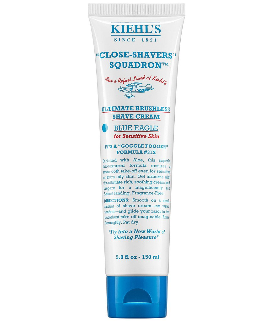 Kiehl's Since 1851 Ultimate Brushless Shave Cream - Blue Eagle for Men