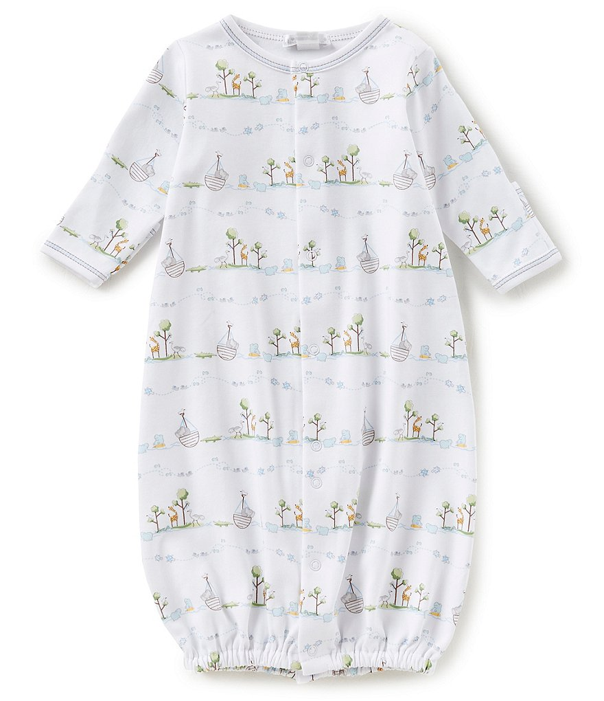 Kissy Kissy Baby Boys Preemie-Newborn Noahs Printed Gown | Dillards