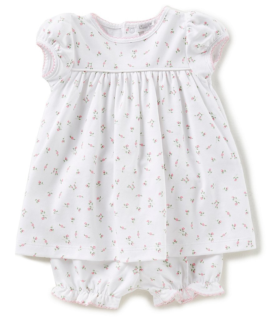 Kissy Kissy Baby Girls Newborn-9 Months Garden Roses Printed Dress