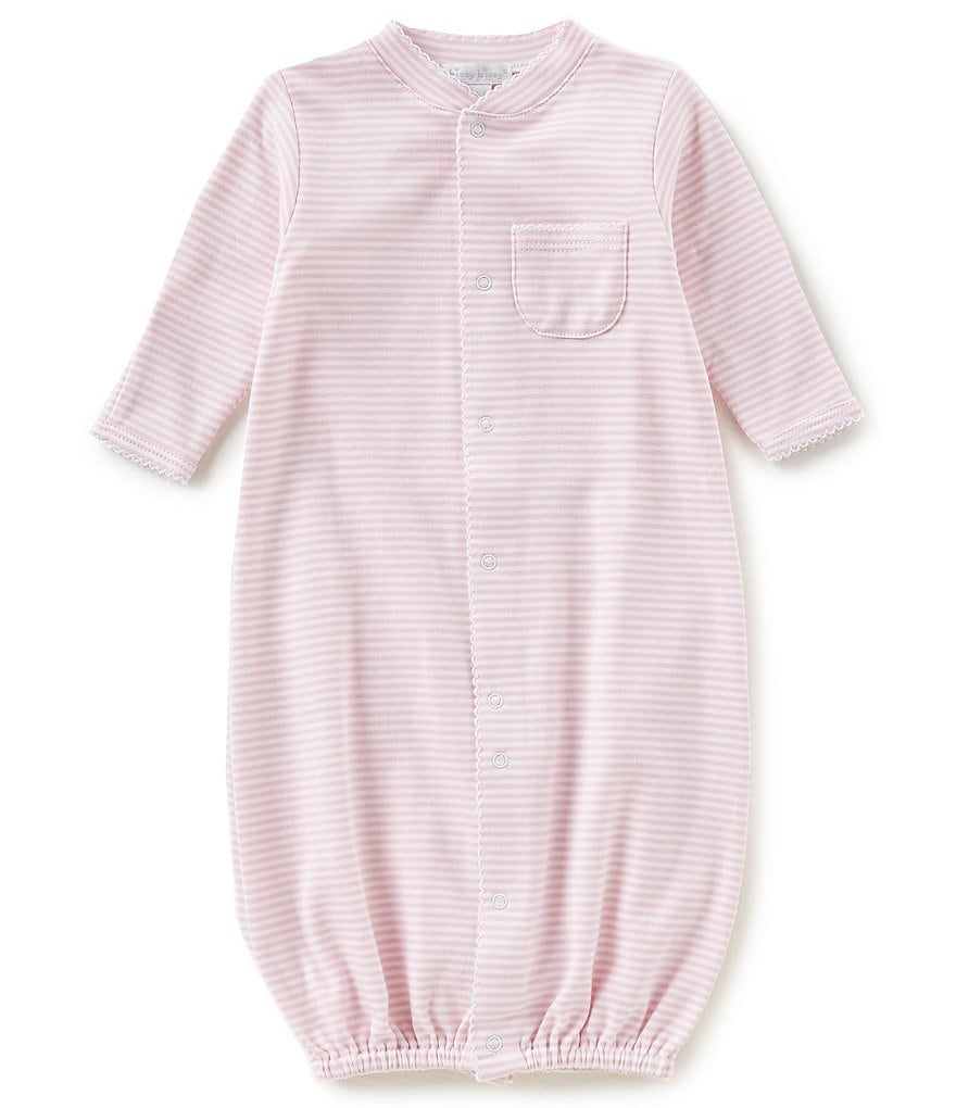 Kissy Kissy Baby Girls Preemie-Newborn Simple Stripes Nightgown