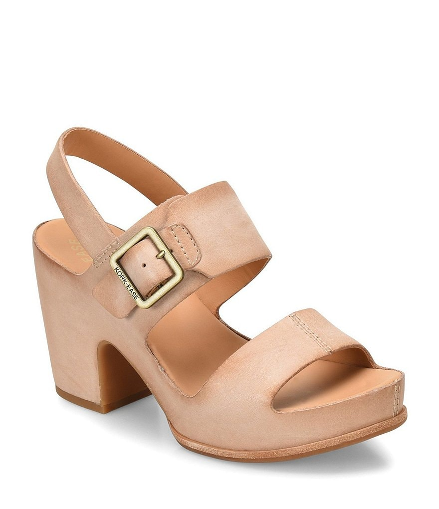 Kork-Ease San Carlos Block Heel Sandals