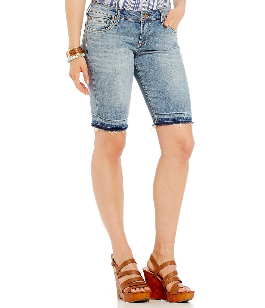 KUT from the Kloth Bermuda Shorts with Released Hem
