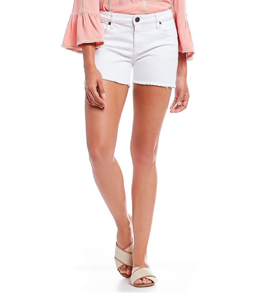 KUT from the Kloth Gidget Frayed Hem Short