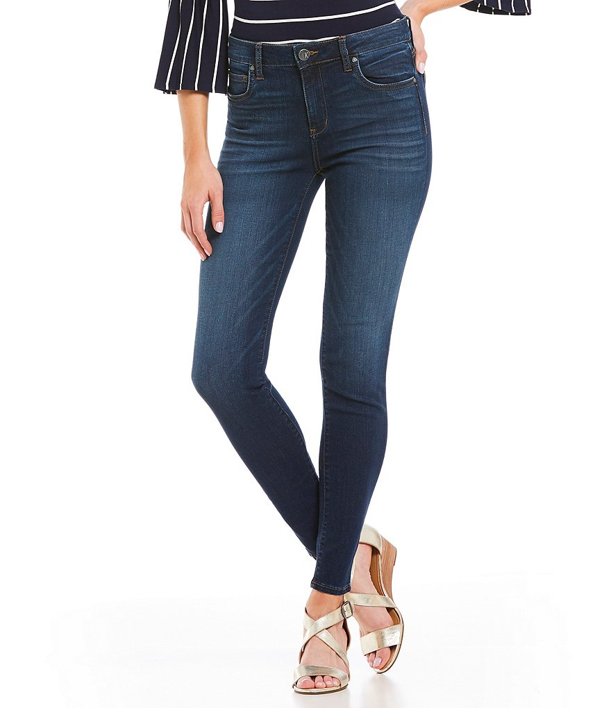 KUT from the Kloth Mia High Waist Skinny Jeans