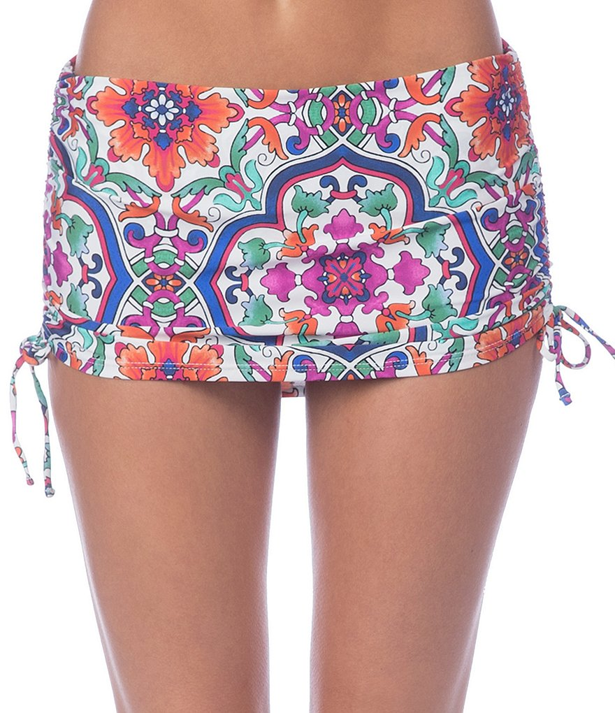 La Blanca Plaza De Espana Adjustable Swimsuit Skirt