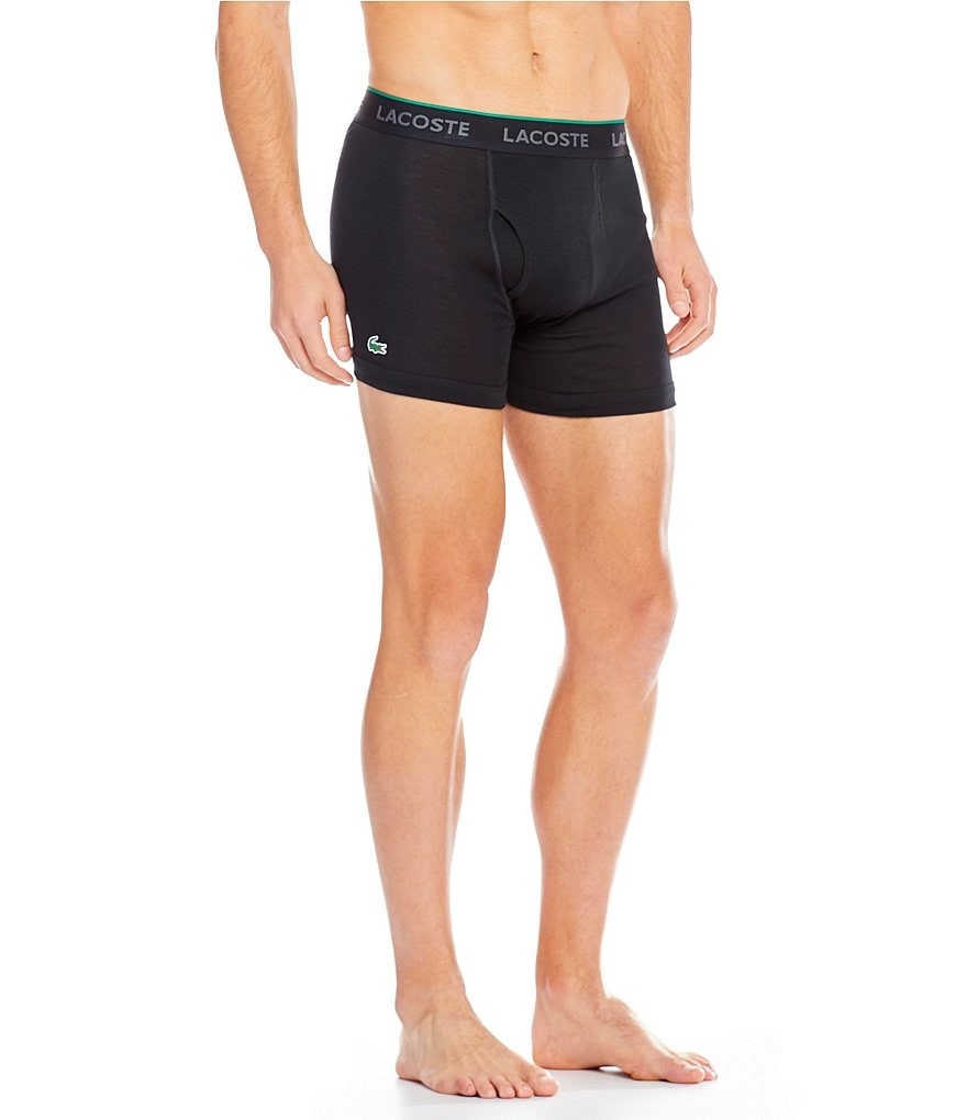 Lacoste Essential Boxer Briefs 3-Pack
