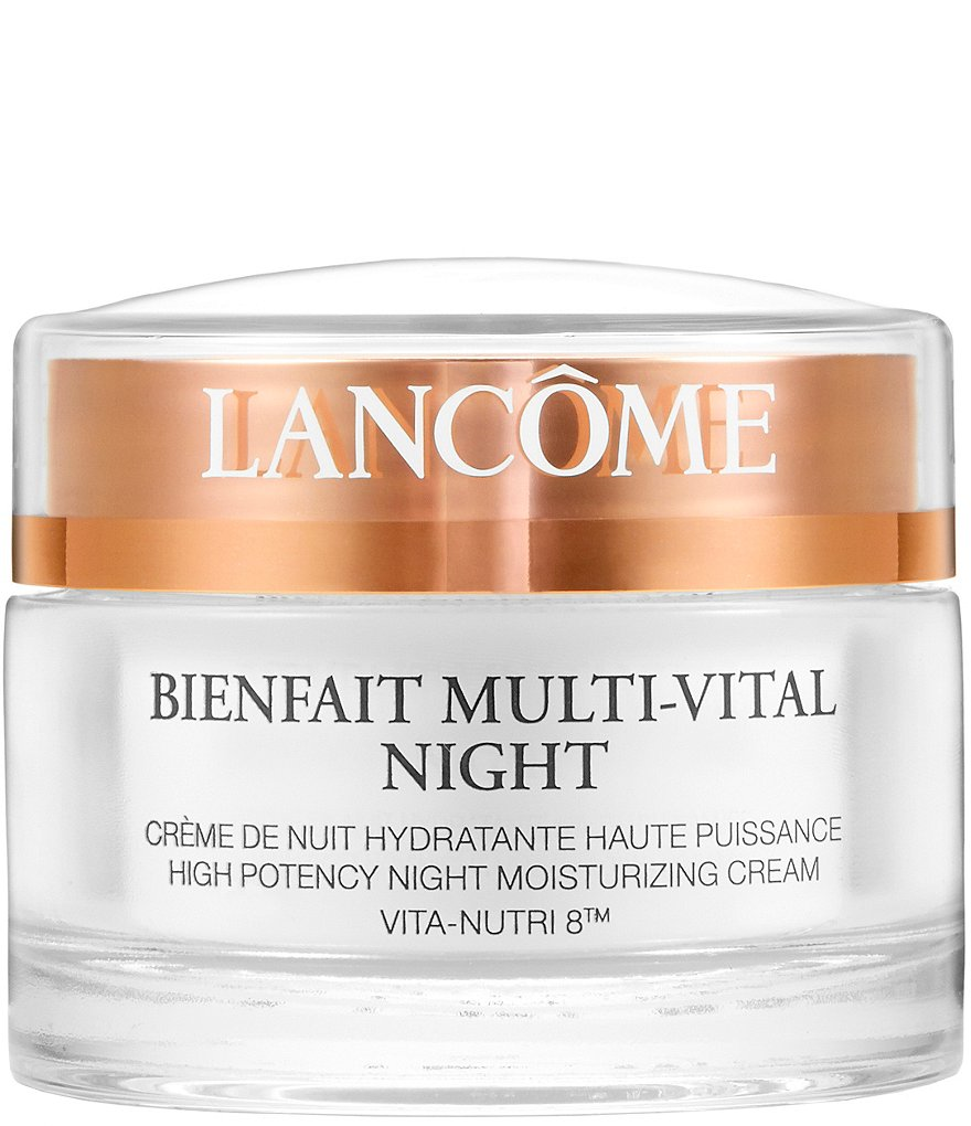 Lancome Bienfait Multi-Vital Night High Potency Night Moisturizing Cream VITA-NUTRI 8™