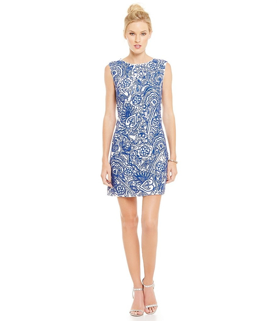 Laundry By Shelli Segal Embellished Dress