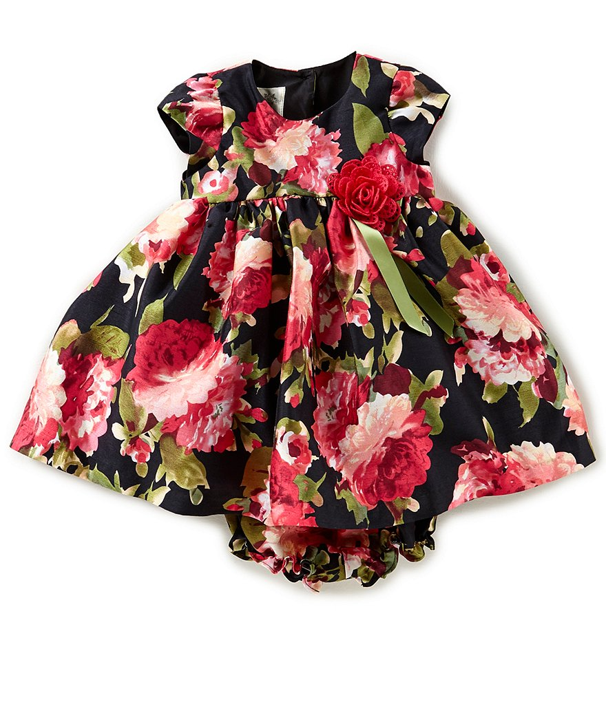 Laura Ashley London 12-24 Months Floral-Print A-Line Dress