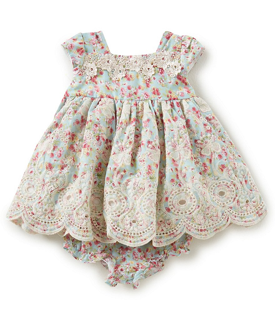 Laura Ashley London Baby Girls Newborn-24 Months Floral-Print Dress