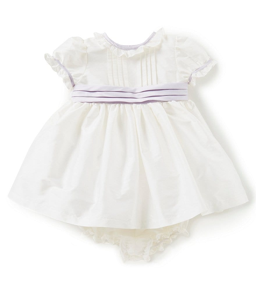 Laura Ashley London Baby Girls Newborn-24 Months Short-Sleeve Dress