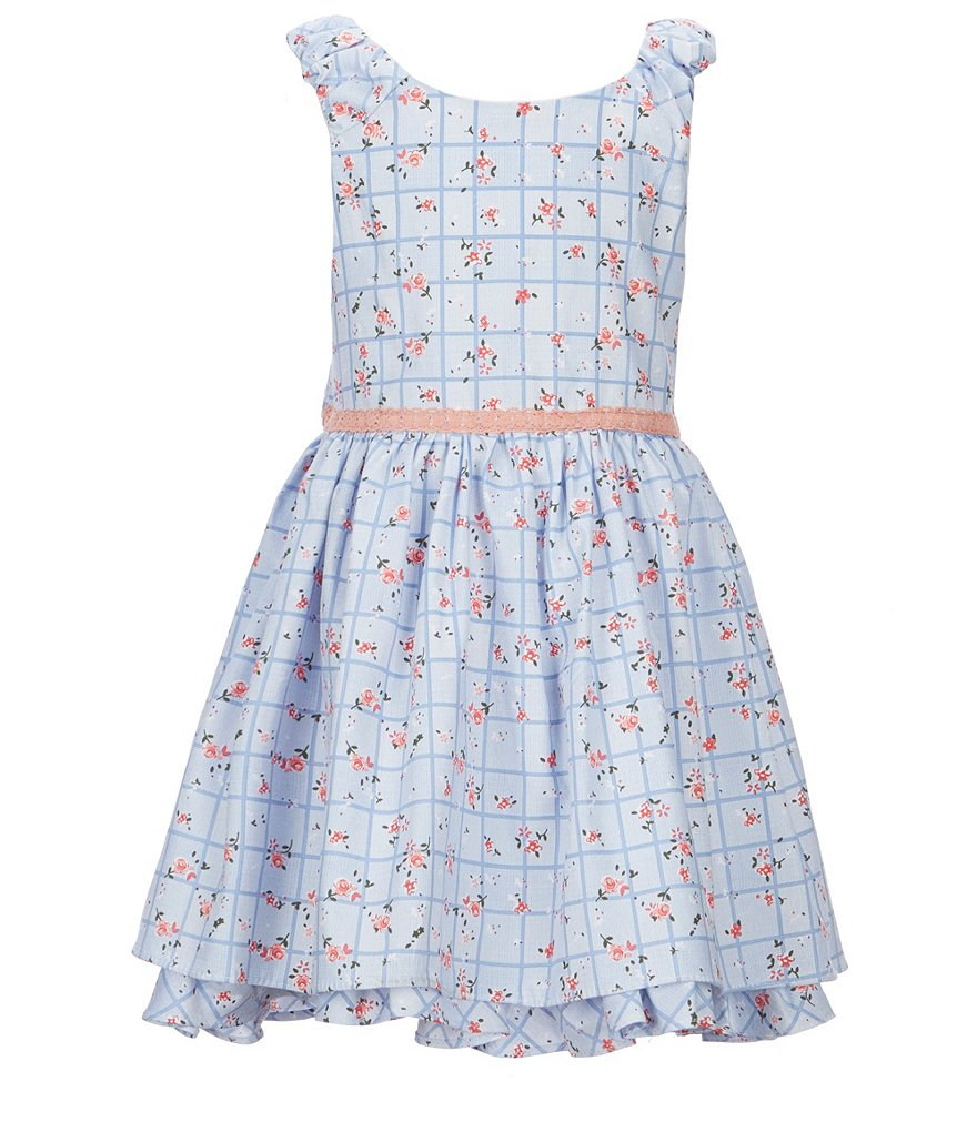 Laura Ashley London Little Girls 2T-6X Ditsy Floral-Print Dress