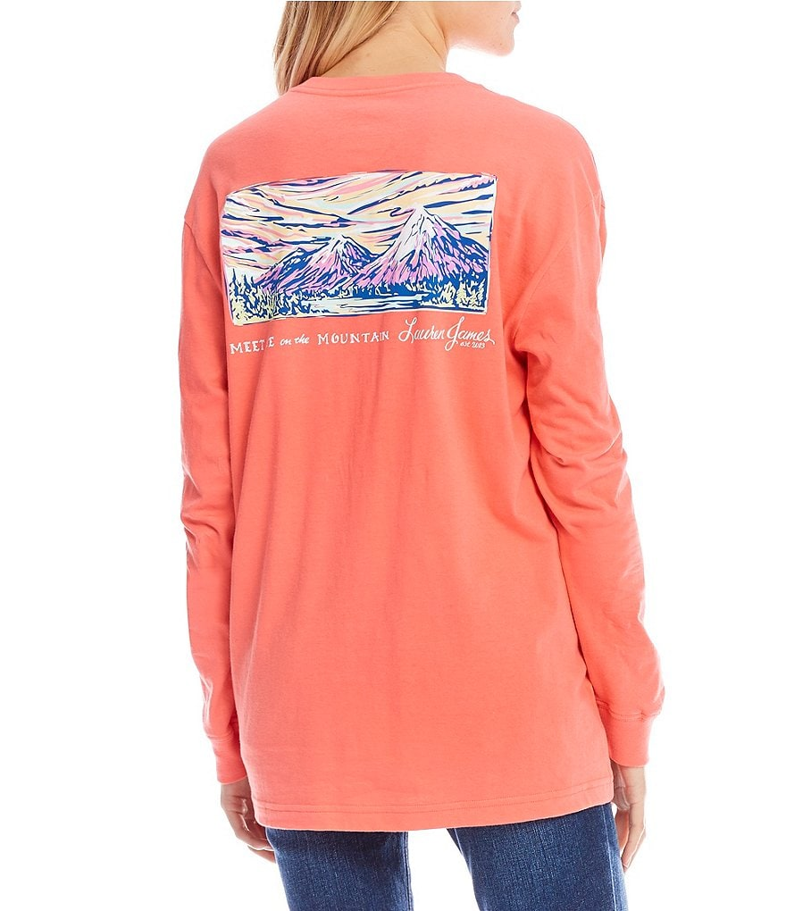 Lauren James Meet Me At The Mountain Long-Sleeve Tee