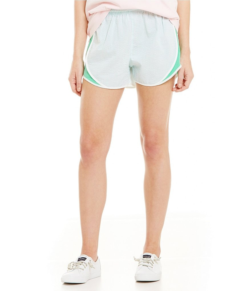 Lauren James Soft Seersucker Shorts