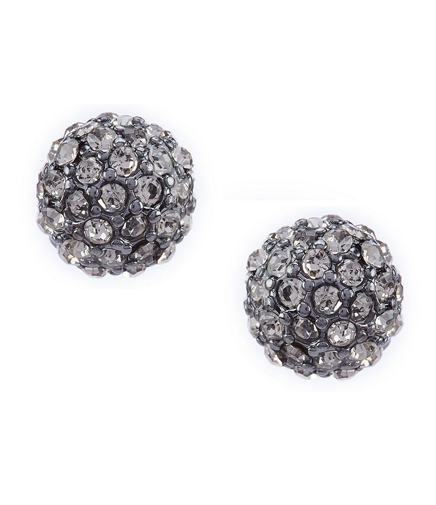 Lauren Ralph Lauren 8mm Pave Fireball Stud Earrings