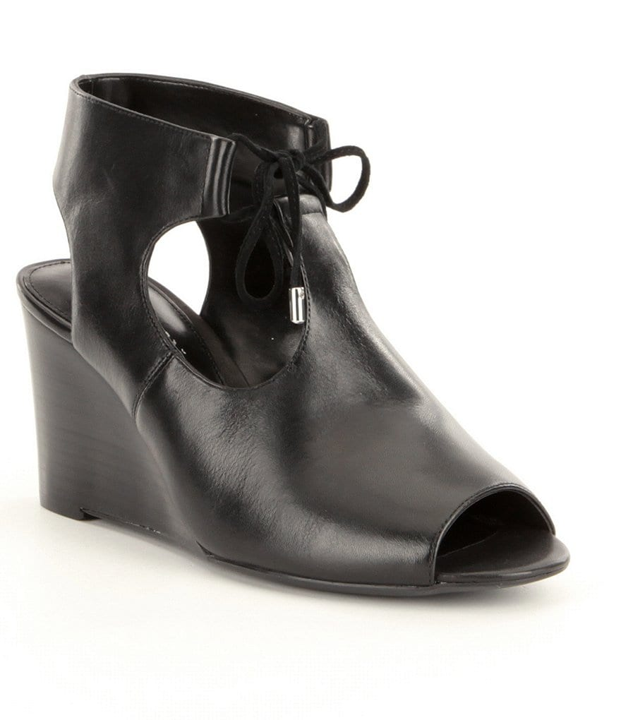 Lauren Ralph Lauren Alayna Wedge Booties