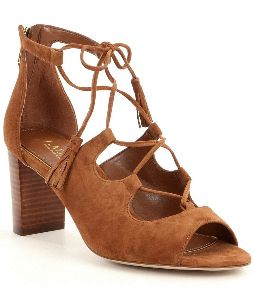 Lauren Ralph Lauren Hasel Ghille Dress Sandals
