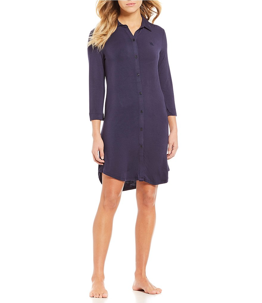 Lauren Ralph Lauren His Shirt Jersey Sleepshirt