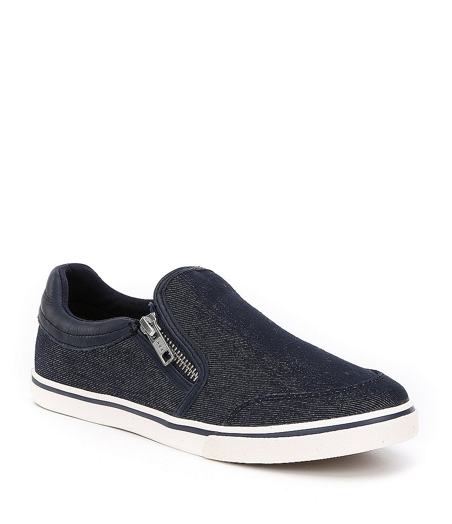 Lauren Ralph Lauren Jeorgia Denim Slip-On Sneakers