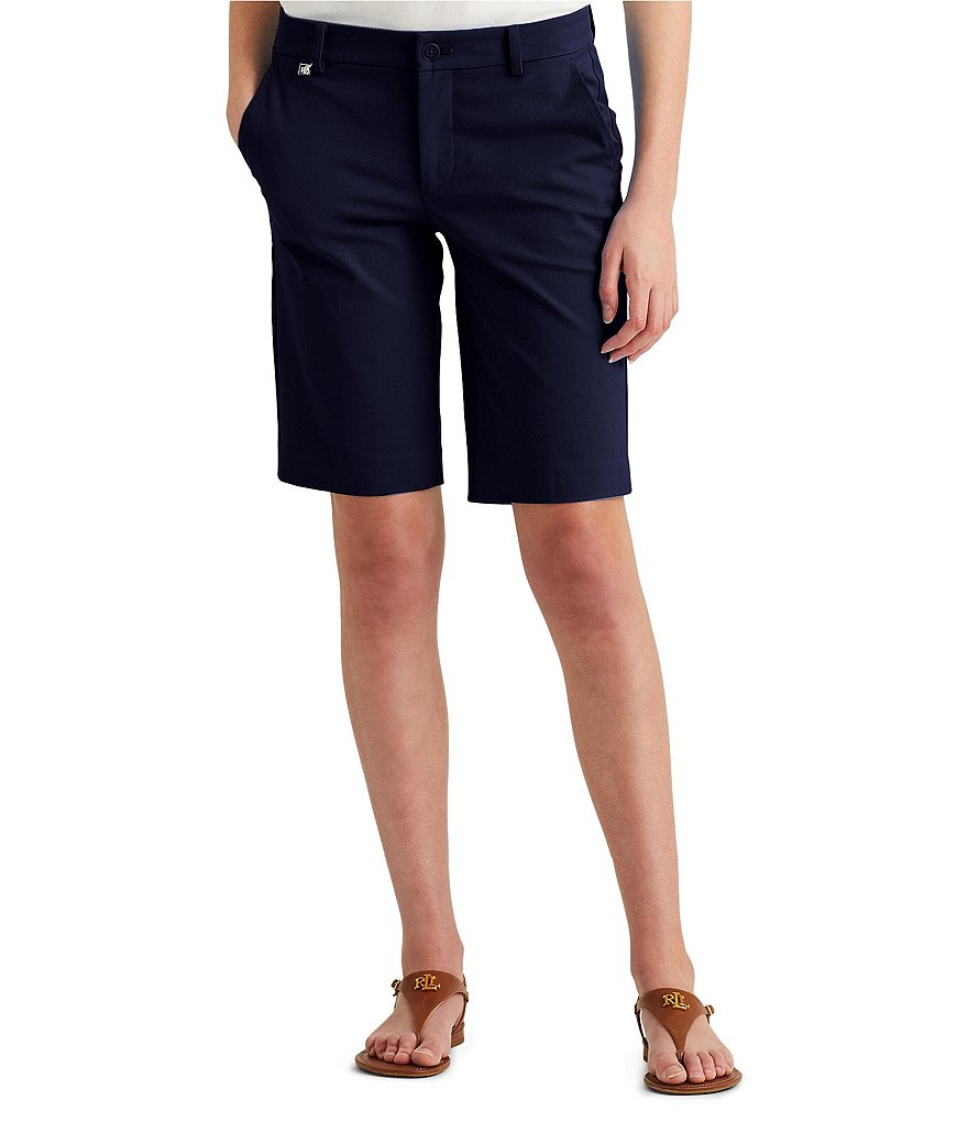 Lauren Ralph Lauren Stretch Cotton Bermuda Short
