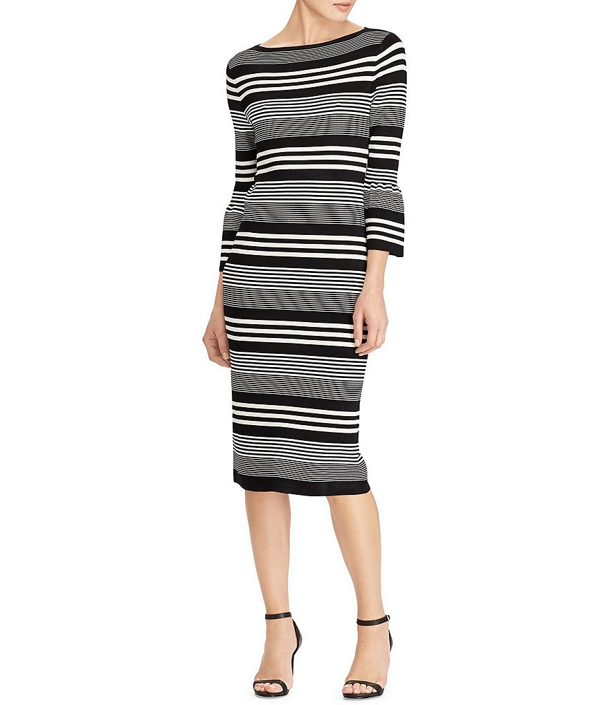 Lauren Ralph Lauren Striped Knit Dress