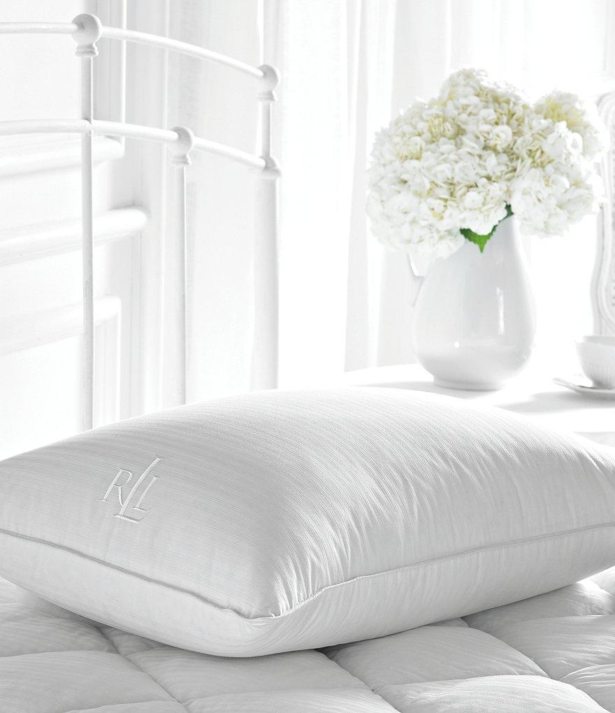 Lauren Ralph Trilogy Cotton Dobby Feather Down Pillow