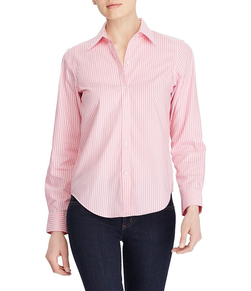 Lauren ralph lauren wrinkle free striped dress shirt Best wrinkle free dress shirts