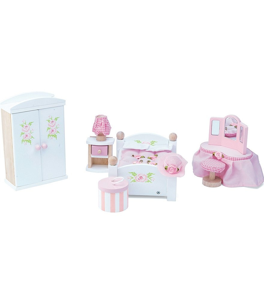 Le Toy Van Honeybake Daisy Lane Master Bedroom Furniture Set