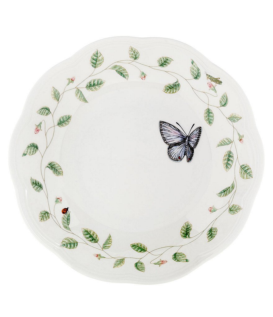Lenox Butterfly Meadow Porcelain Pasta/Soup Bowl