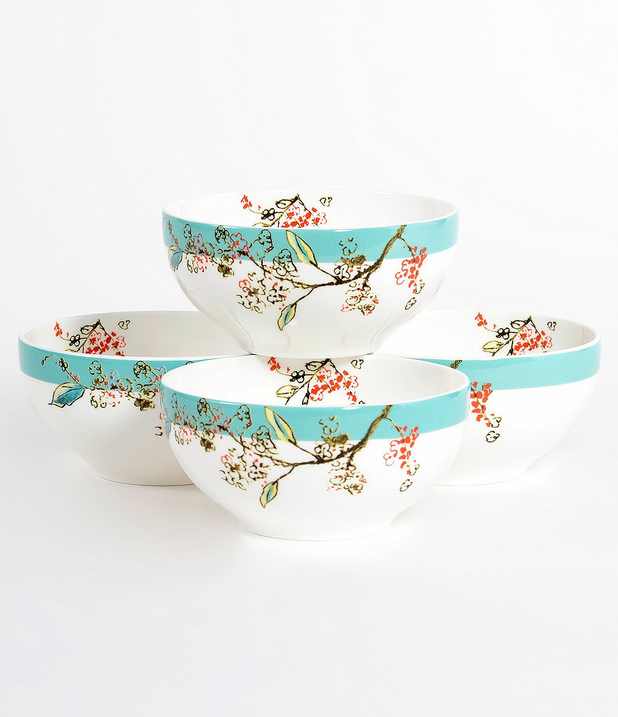 Lenox Chirp Dessert Bowls, Set of 4