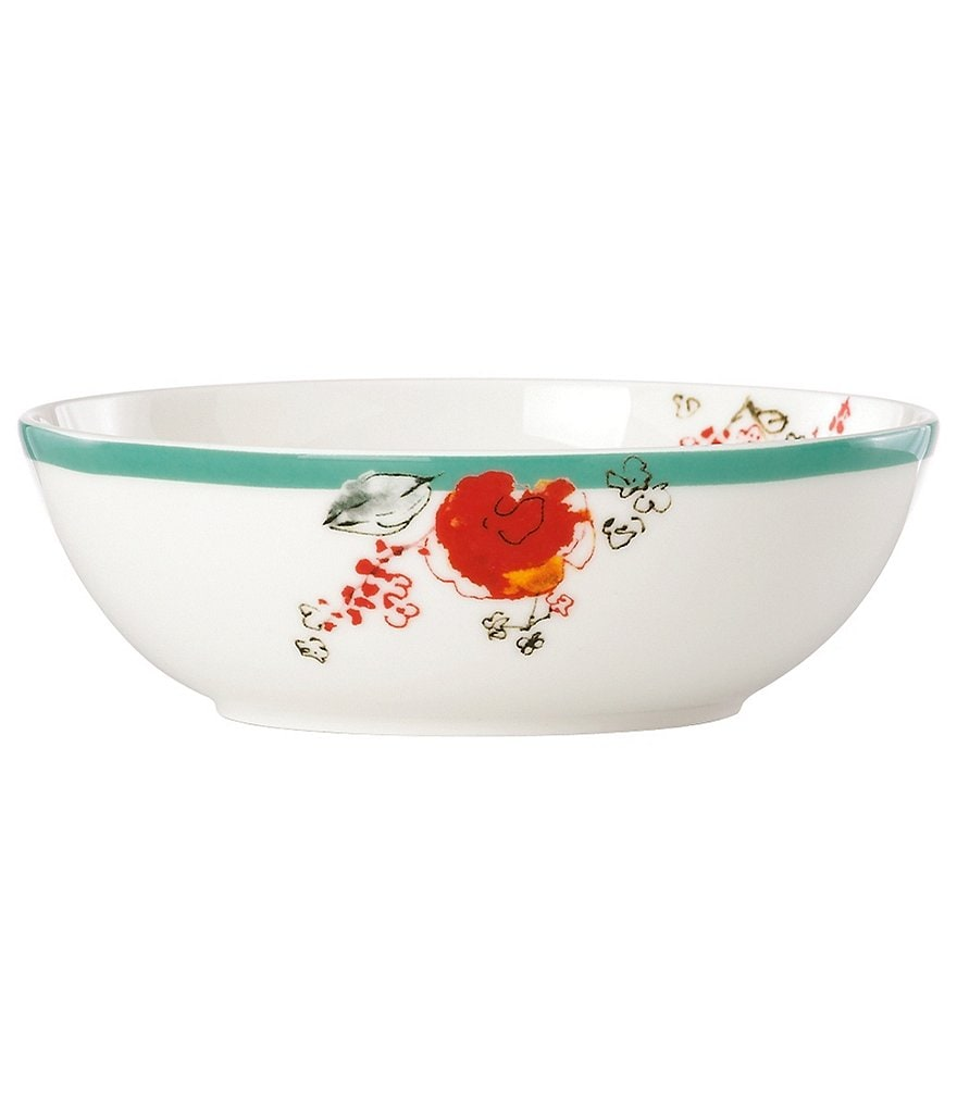 Lenox Chirp Floral Bone China Fruit Bowl
