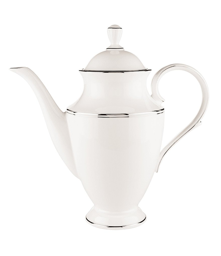 Lenox Federal Platinum Coffeepot