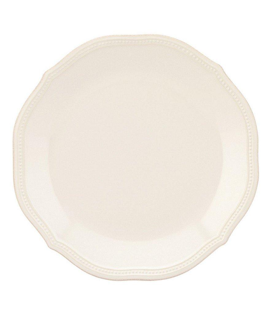 Lenox French Perle Bead Scalloped Stoneware Dinner Plate  sc 1 st  Dillard\u0027s & Lenox French Perle Bead Scalloped Stoneware Dinnerware | Dillards