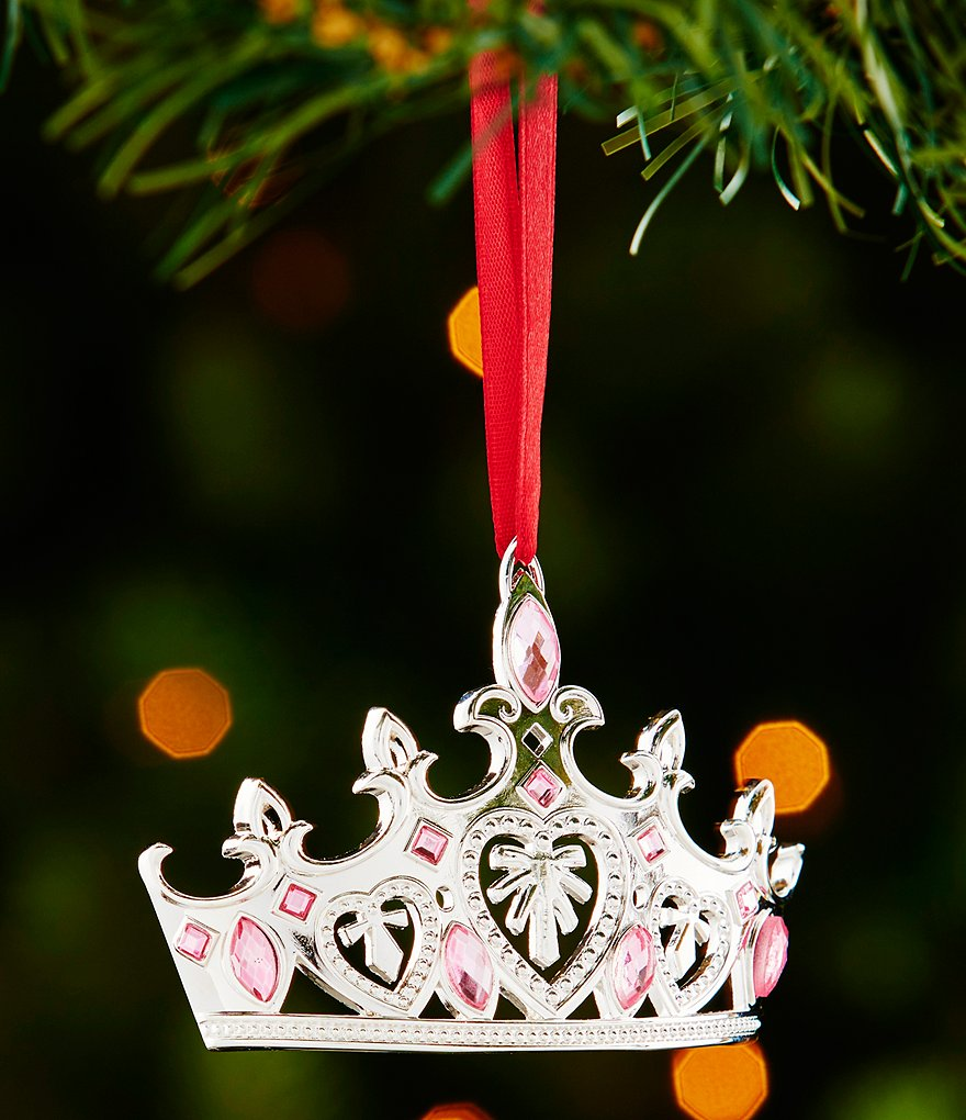 Lenox Silver Little Princess Crown Ornament