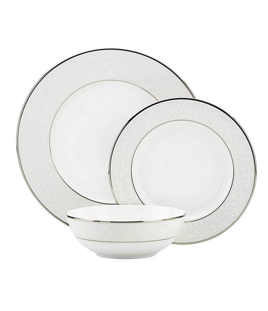 Lenox Opal Innocence 3-Piece Place Setting