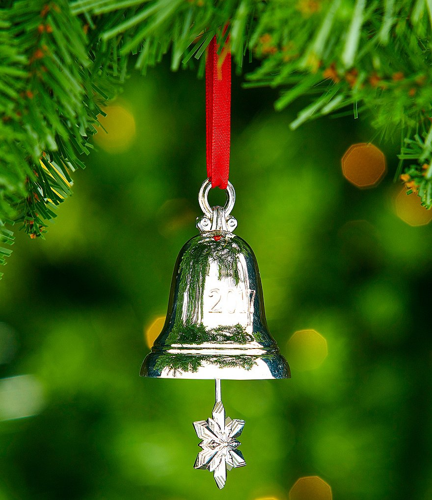Silver bell ornament images diy mm