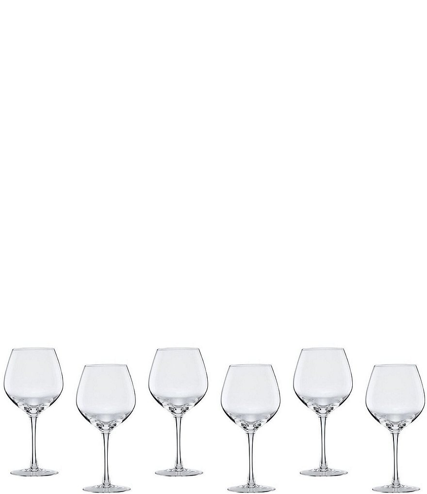 Lenox Tuscany Balloon Red Wine Glasses, Set of 6