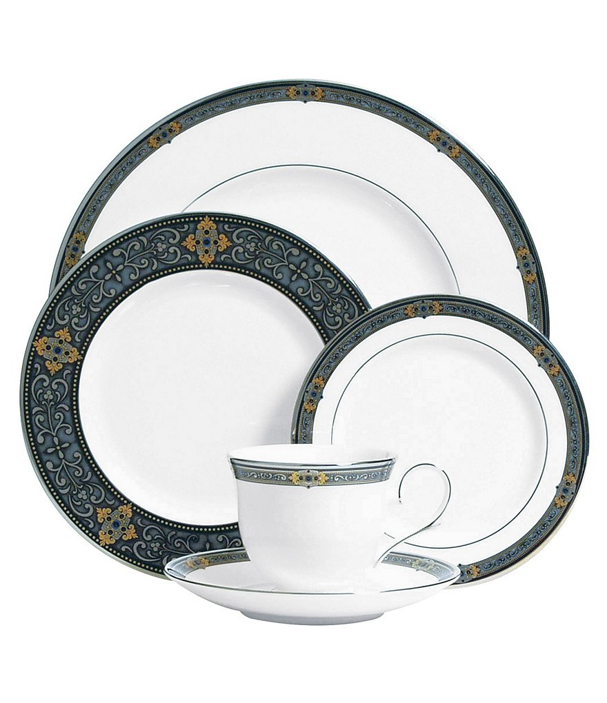 Lenox Vintage Jewel Bone China 5 Piece Place Setting