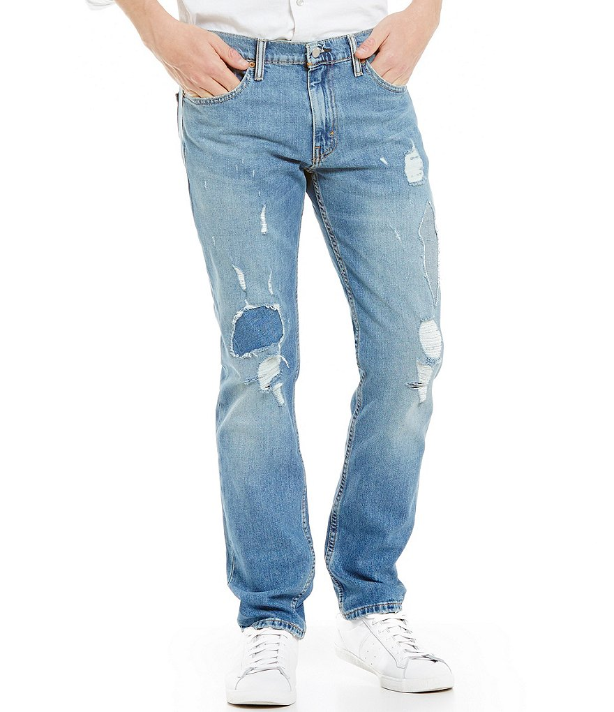 Levi's® 511 Slim-Fit Distressed Jeans