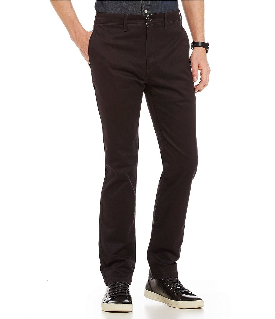 Levi's® 511 Slim-Fit Stretch Twill Chino Flat Front Pants