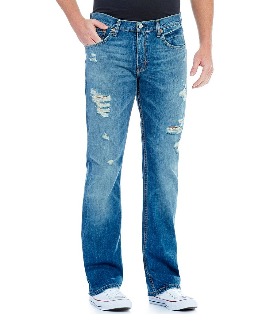 Levi´s® 527 Slim Bootcut Distressed Jeans