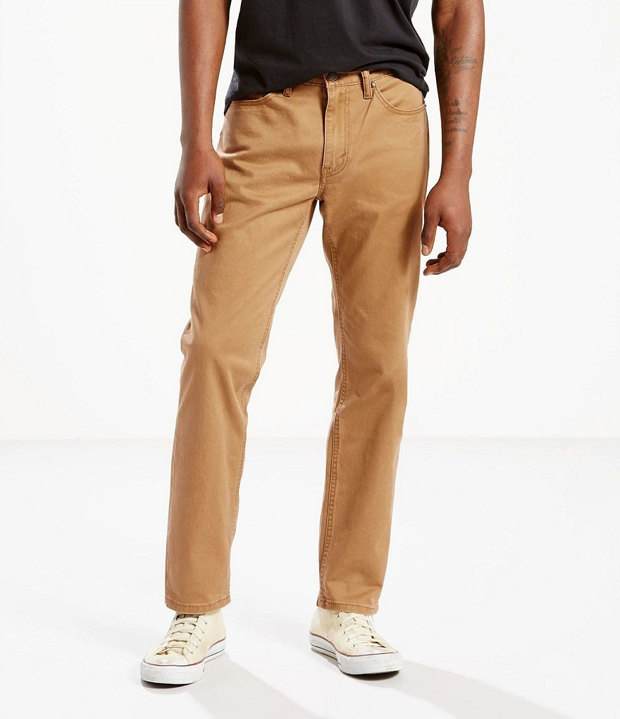Levi's® 541 Athletic-Fit Stretch Twill Flat Front Pants