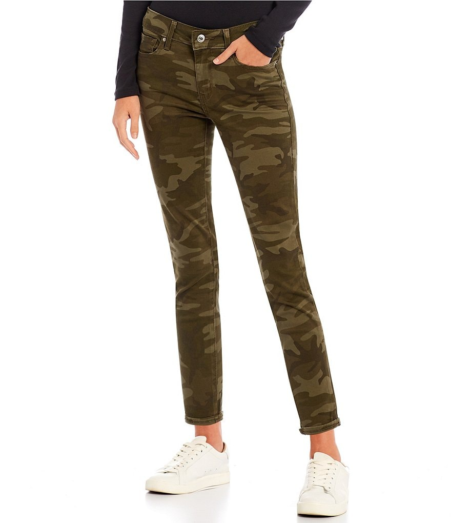 Levi's® 711 Camo Crop Ankle Skinny Jeans