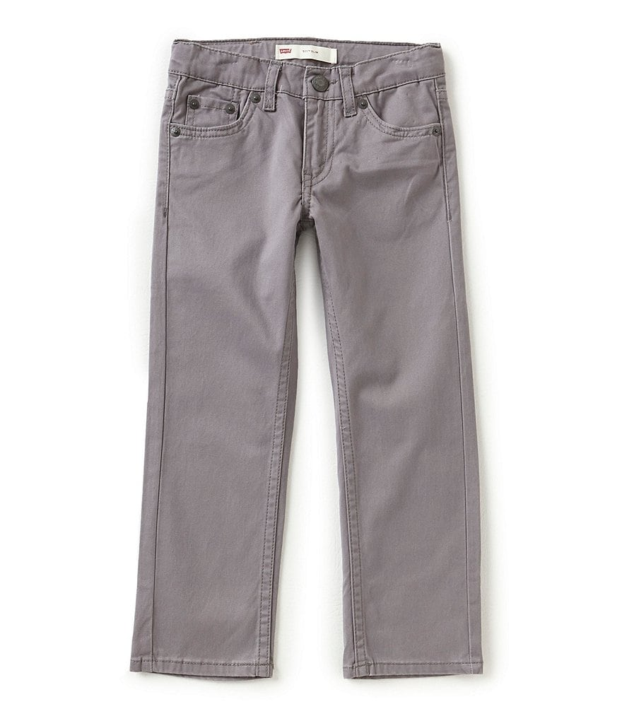 Levi's® Little Boys 2T-7X 511 Sueded Pants